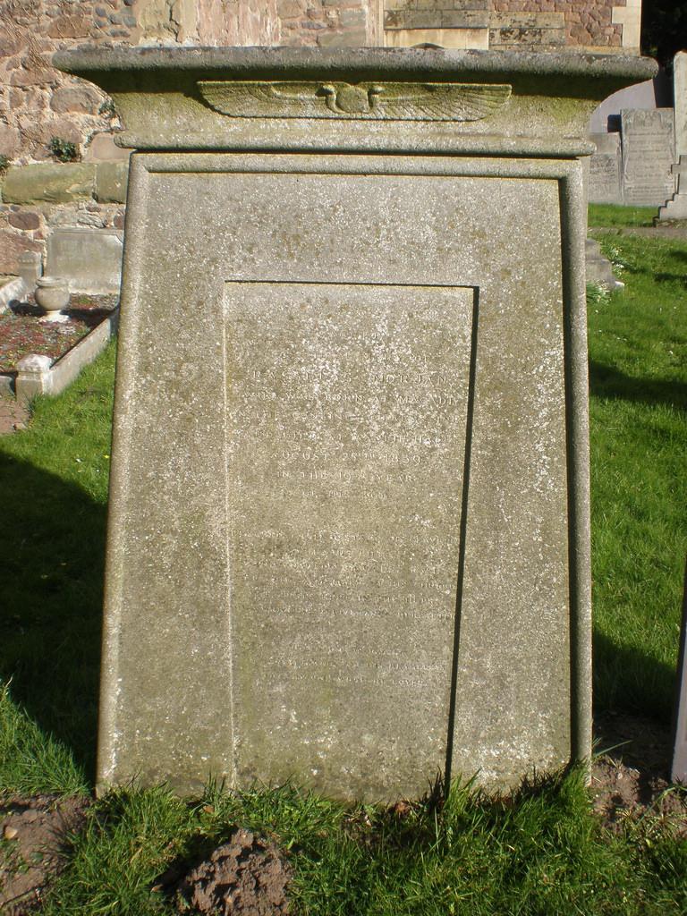 Grave of Rasselas Morjan