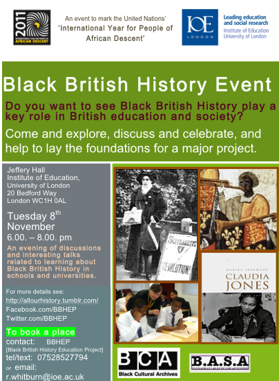 Black British History Event