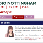 Blackpresence on Radio Nottingham