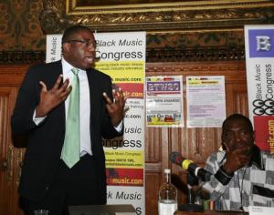 IP & HE minister David Lammy and Kwaku (BBM/BMC)