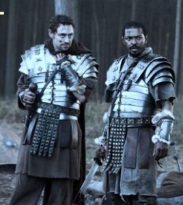 Black romans were Stationed in Britain