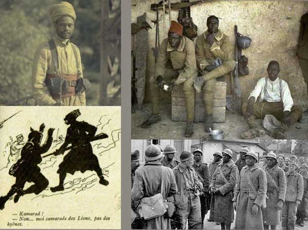 Africans in the French Army WW1