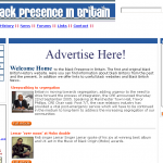 blackpresence website 2005