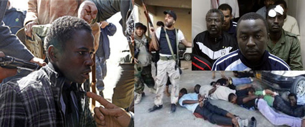 Black Libyans are now suffering at the hands of the Rebels