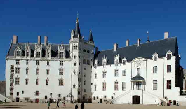 Castle of the Dukes of Brittany Nantes