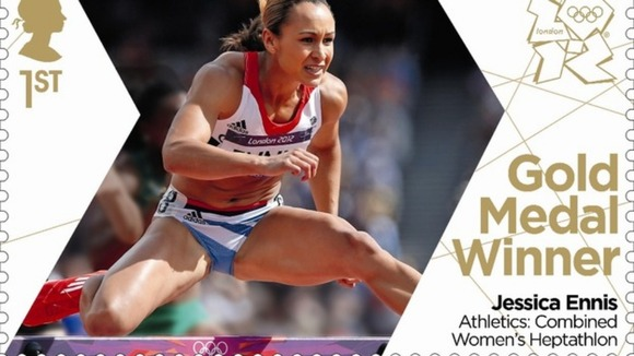Jessica Ennis Commemorative Stamp