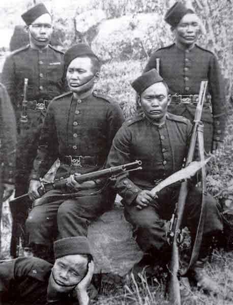 Ghurkas WW1