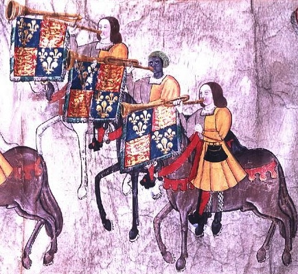 John Blanke - Features on the Westminster Tournament Roll