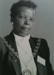 Valda James former Mayor of Islington